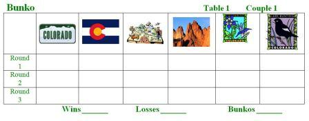 Scenes of Colorado Bunko Sheets